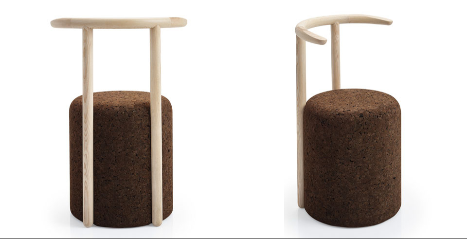 Omega chair by Toni Grilo for Blackcork